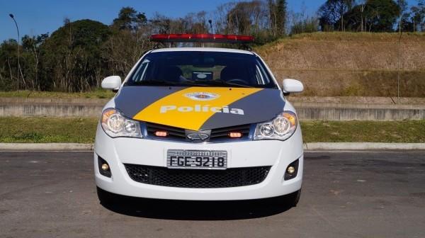Chery Celer equipará Polícia Rodoviária de São Paulo
