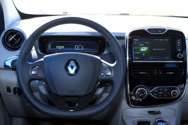 O Renault Zoe é 100% elétrico