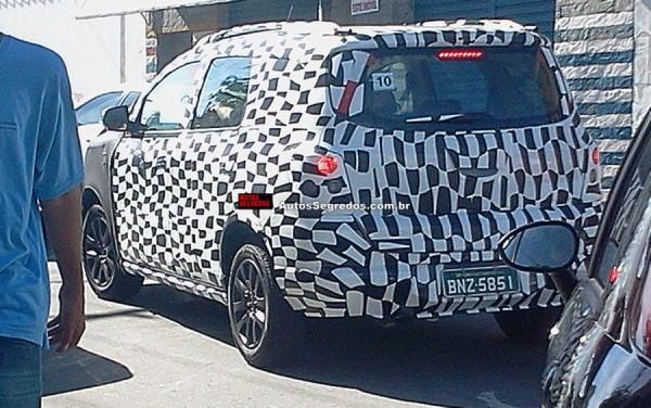 Chevrolet Spin terá versão aventureira ainda em 2014