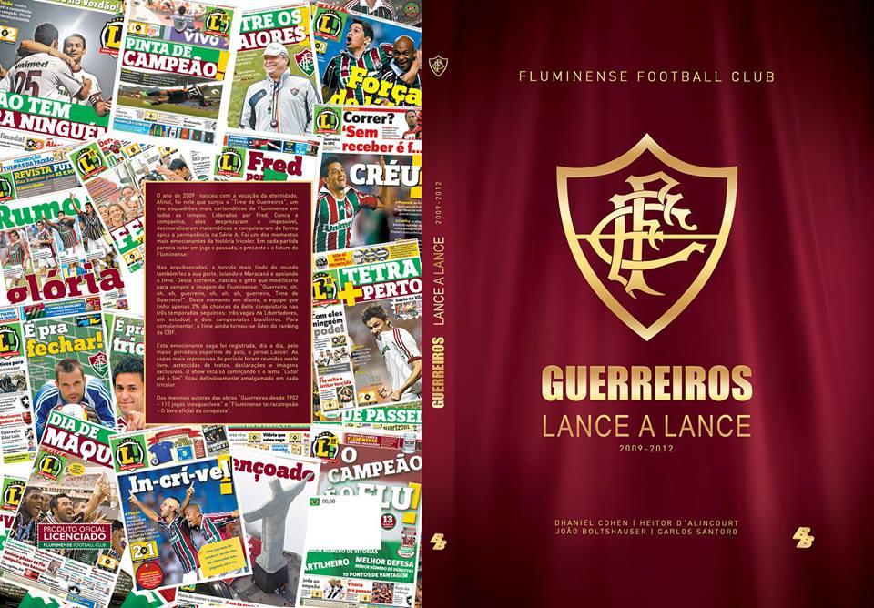 Fluminense terá estando na Bienal do Livro e terá lançamento do livro Guerreiros Lance a Lance